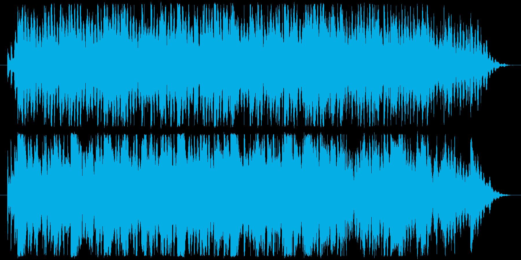 穏やかに寝ている猫の姿を見て作った曲の再生済みの波形