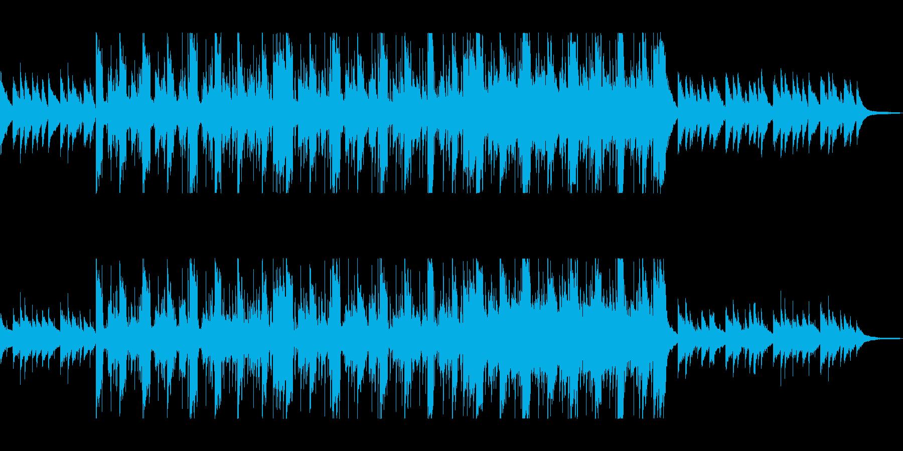ムーディでメロディアスなピアノサウンドの再生済みの波形