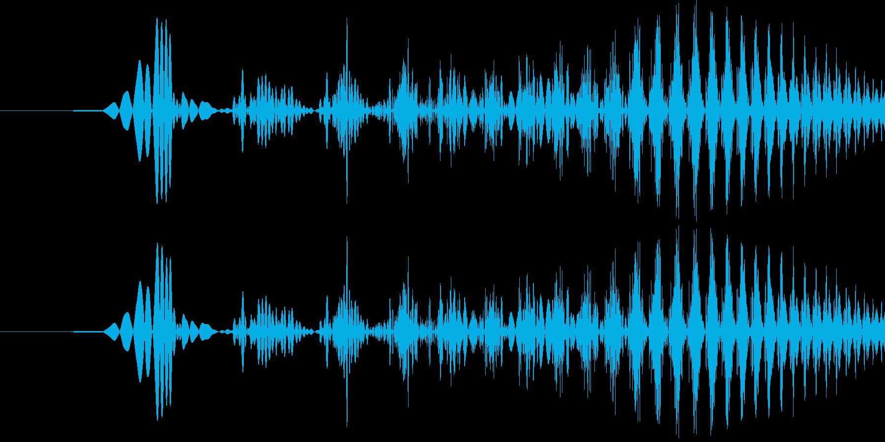 汎用決定ボタン - 9の再生済みの波形