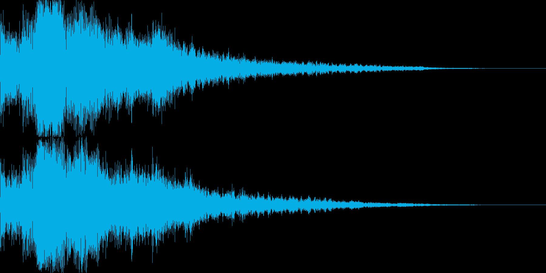 [ティロリーン]リザルト(華やかにキメ)の再生済みの波形