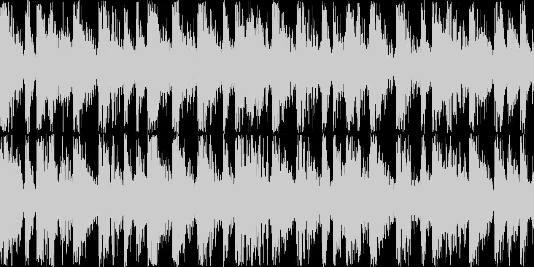 DanceTecno系05sの未再生の波形