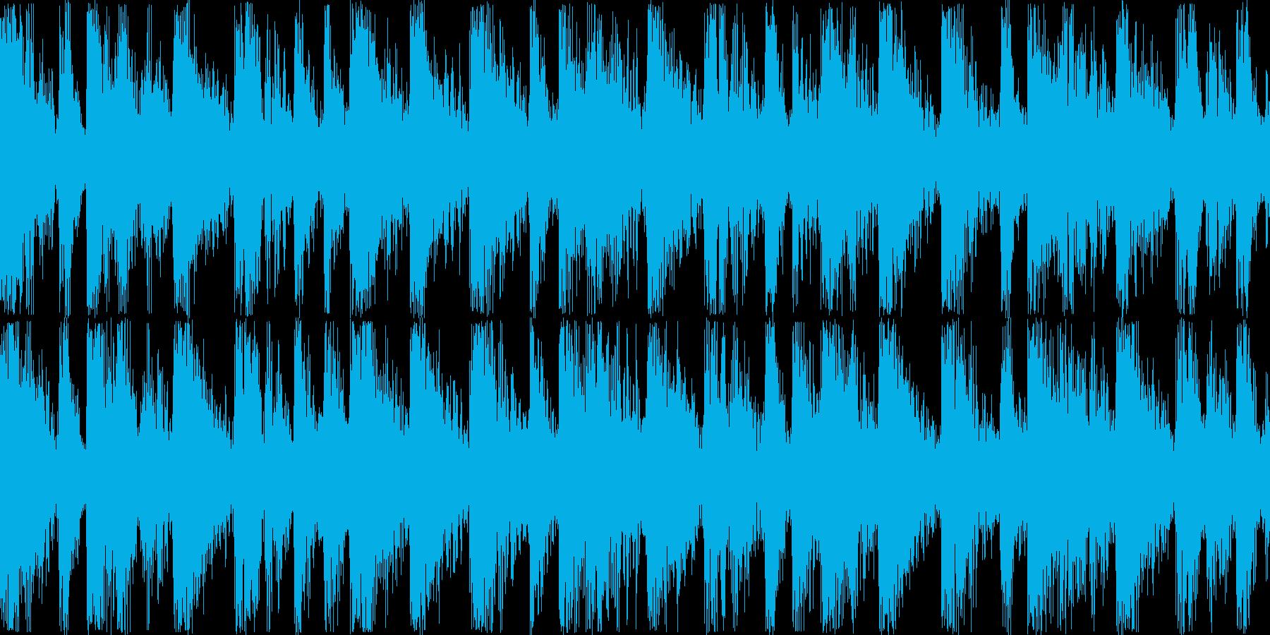 DanceTecno系05sの再生済みの波形
