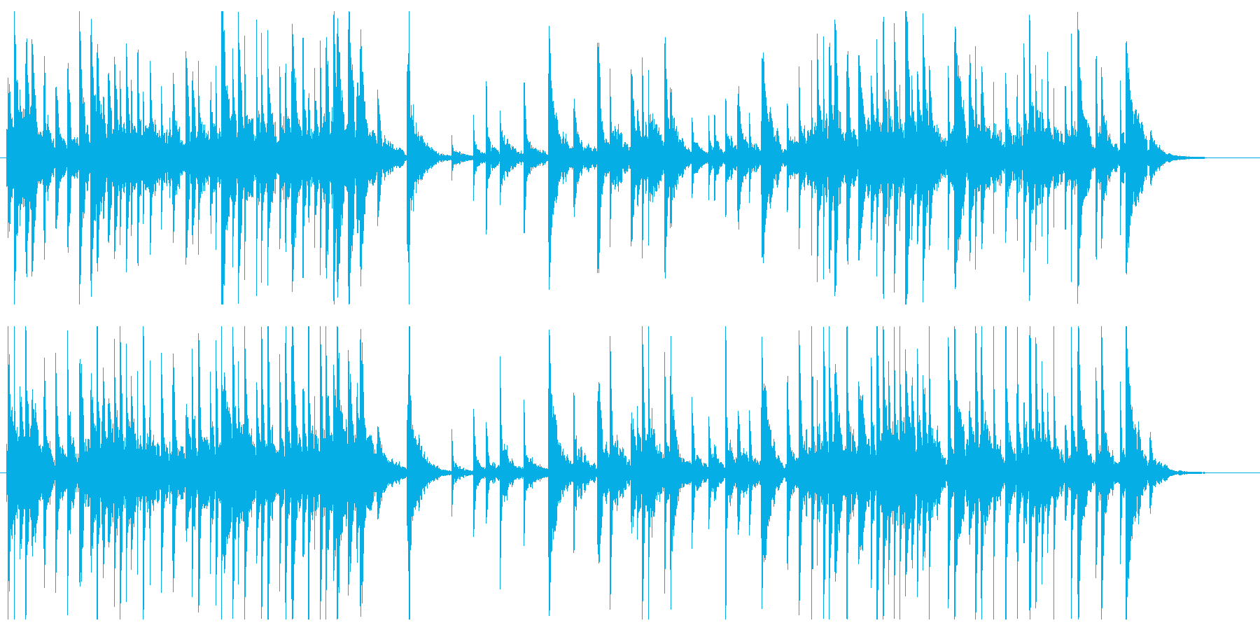 高音が綺麗な静かで感動的なピアノソロの再生済みの波形