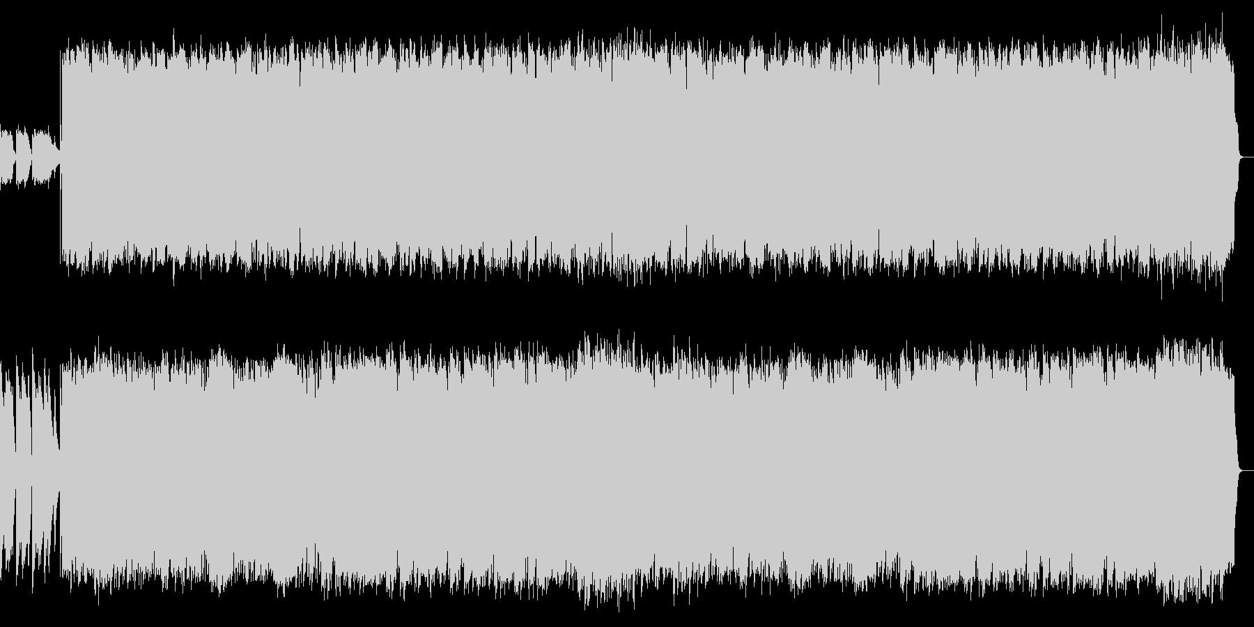 アコギのリズム伴奏と切ないSAXのPOPの未再生の波形