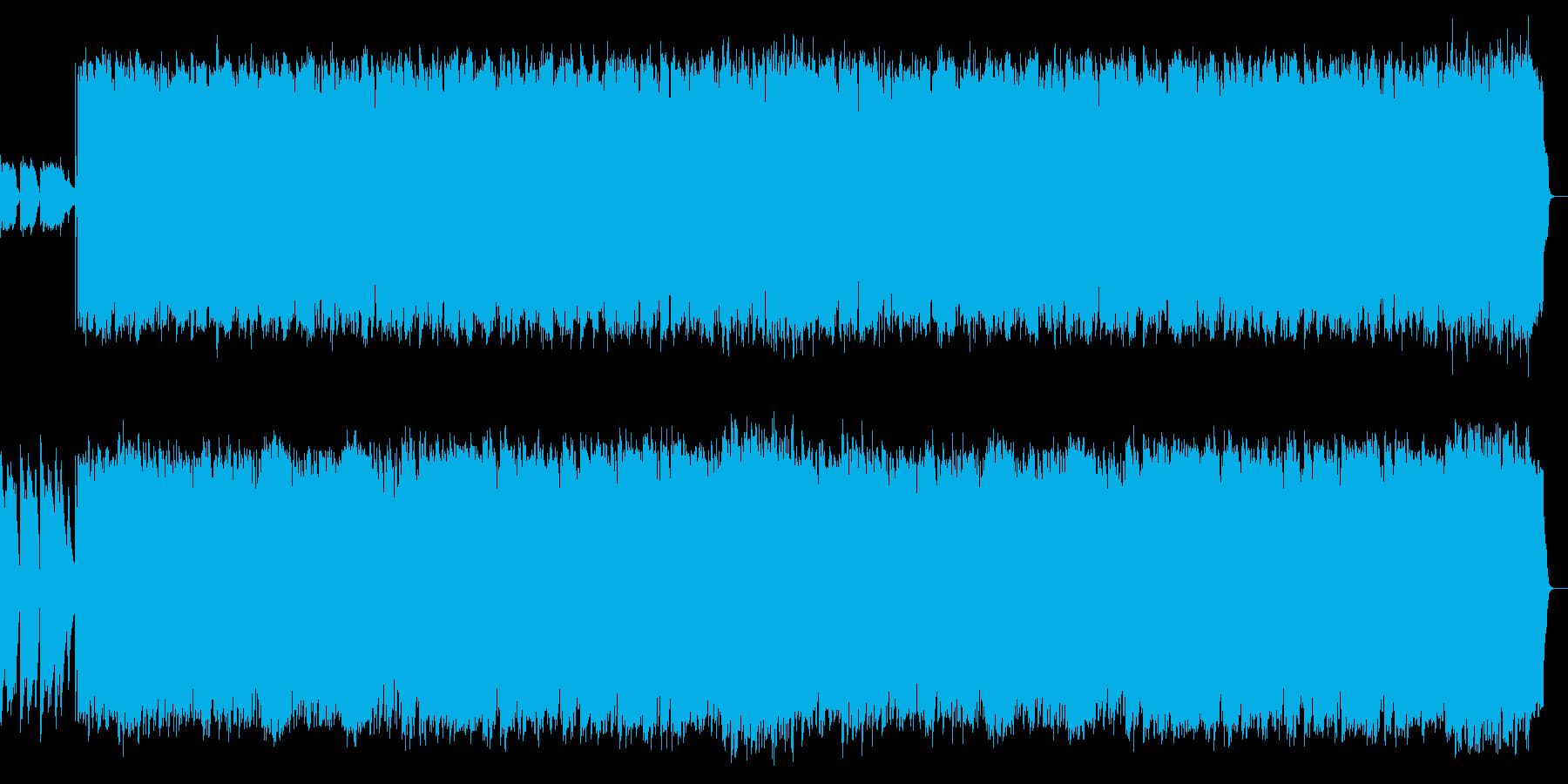 アコギのリズム伴奏と切ないSAXのPOPの再生済みの波形