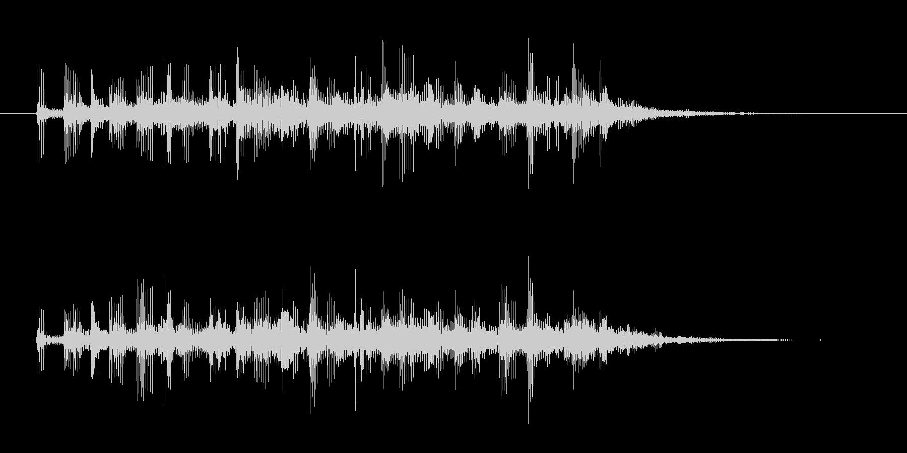 ホラーやダークなサウンドロゴ系の未再生の波形