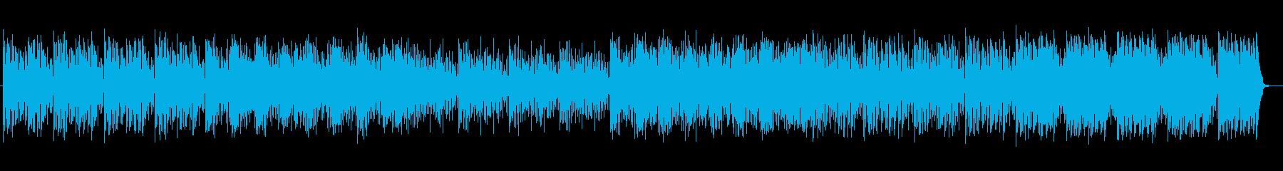 可愛らしいセンチメンタルエレクトロニカの再生済みの波形