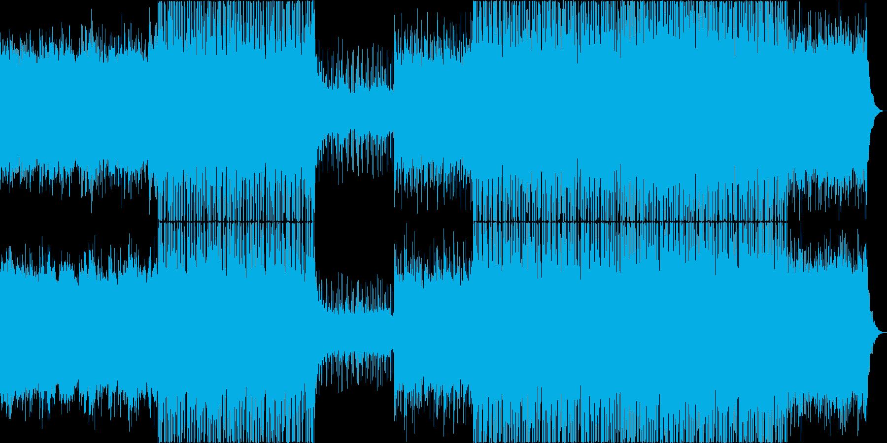 ゆったり切ないアンビエントミュージック。の再生済みの波形