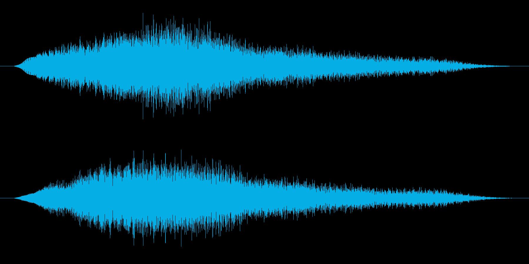 インド風アイキャッチ・出囃子(タンブラ)の再生済みの波形