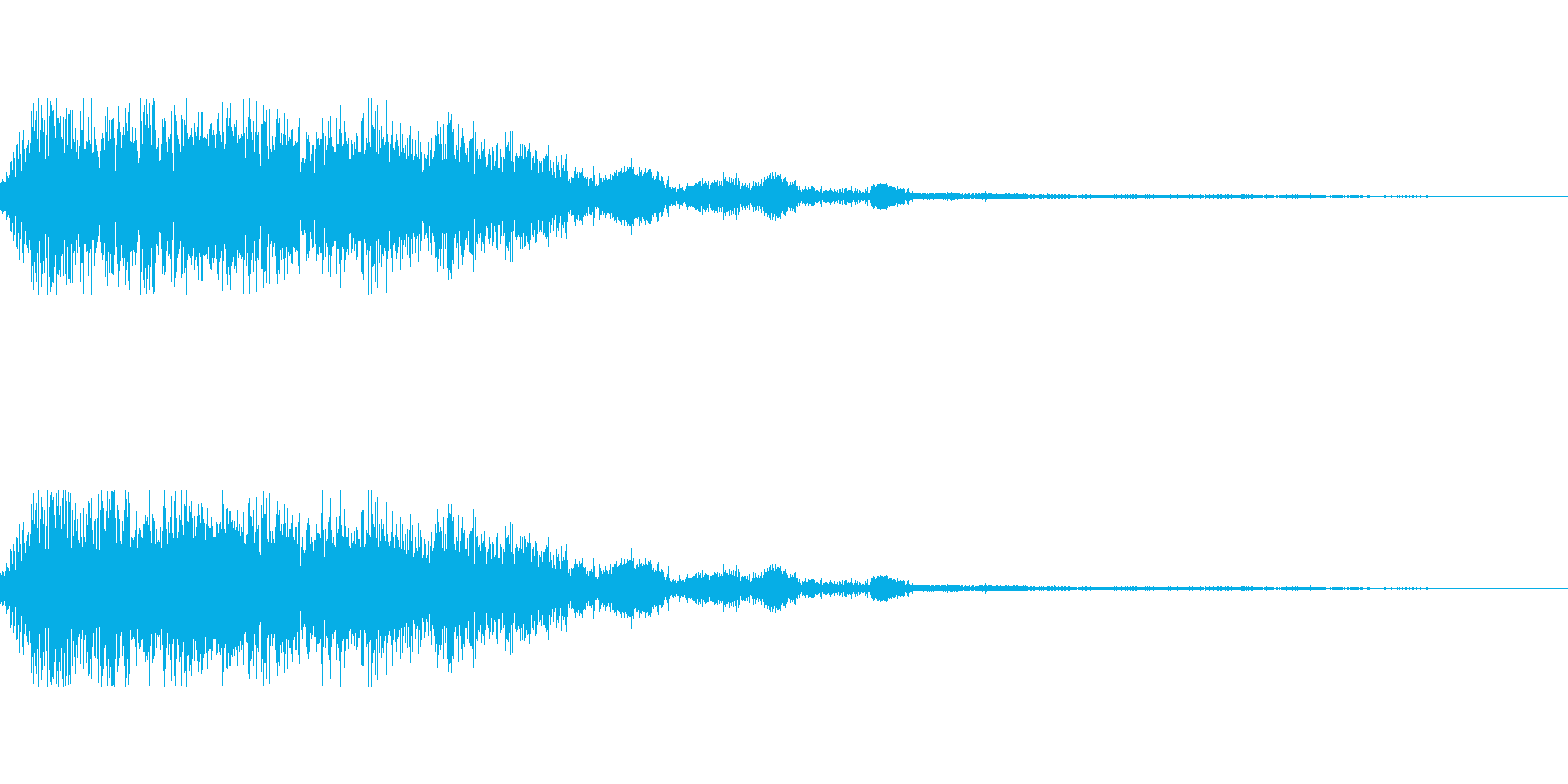 [ピシュン]弓・矢が刺さる(中)の再生済みの波形