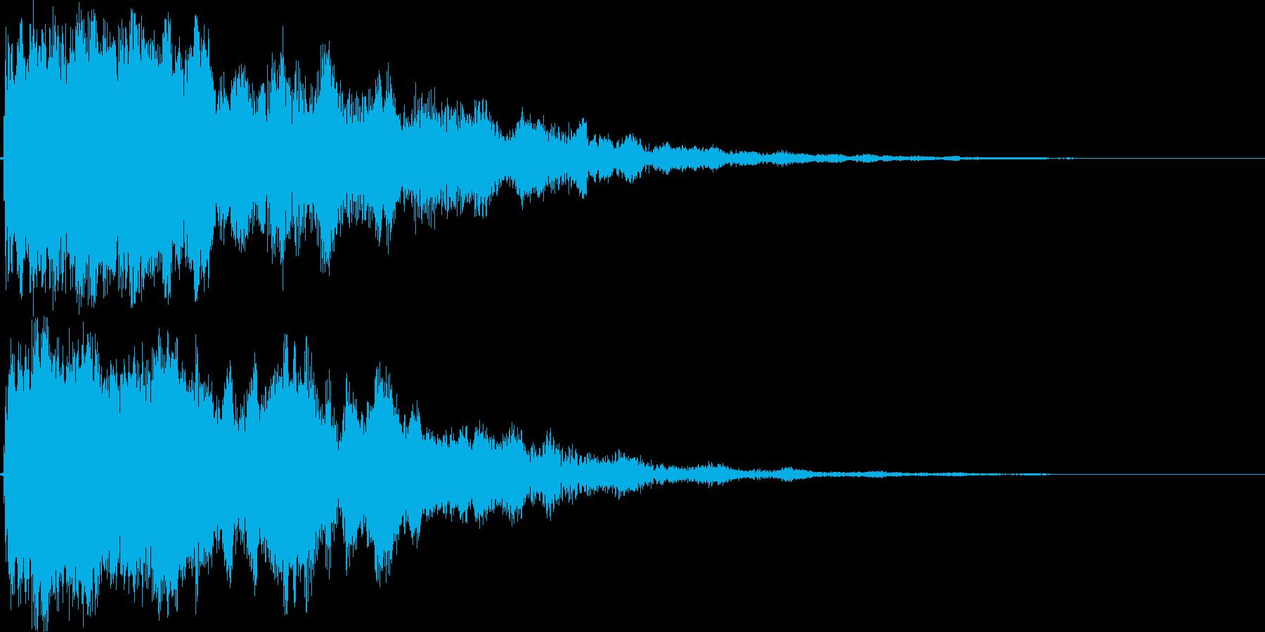 シャキーン!(闇や毒などの特殊魔法)10の再生済みの波形