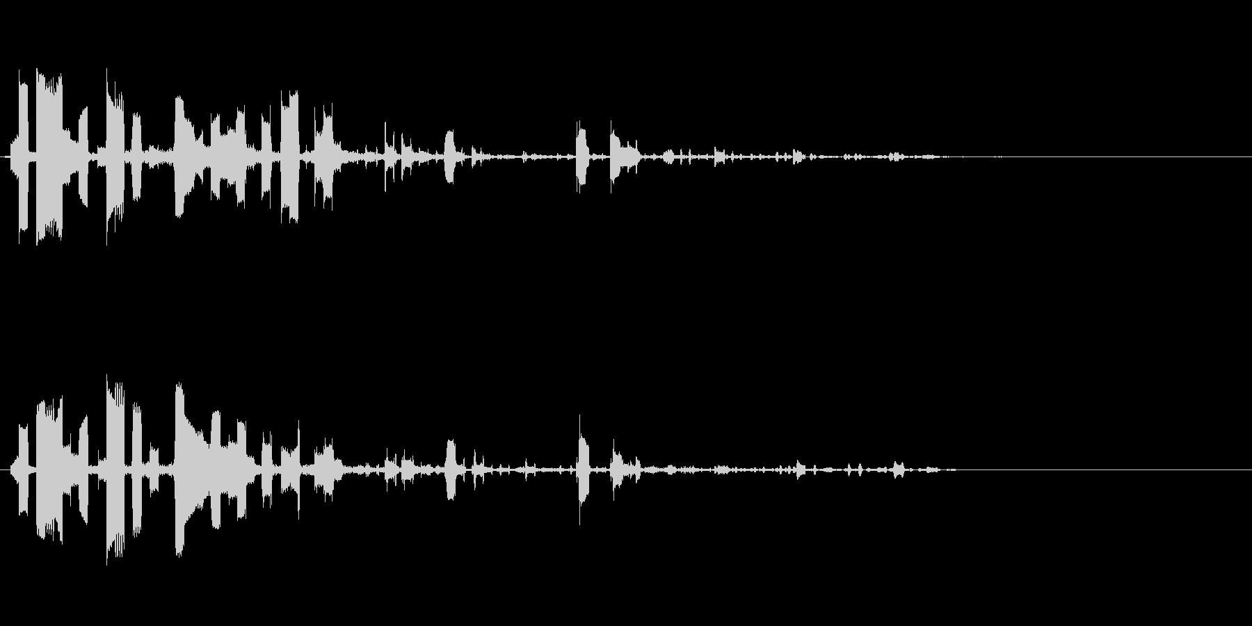 ピポパポの未再生の波形