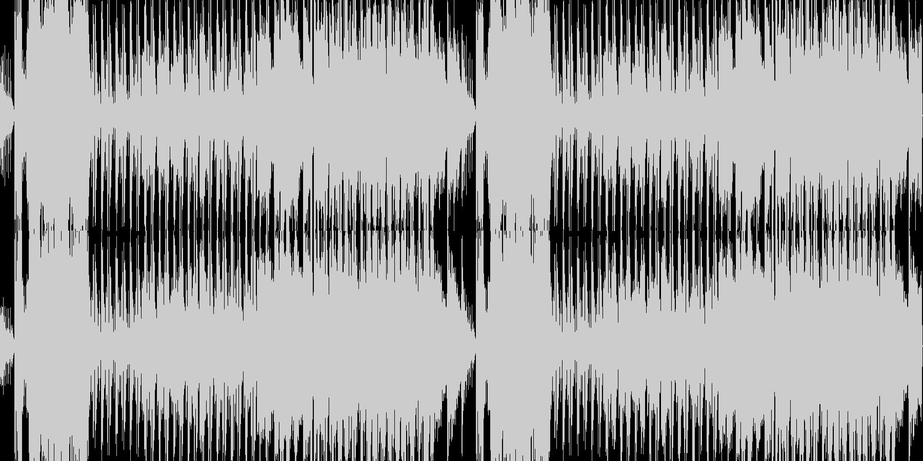 桜春琴和風ポップループBGMオーケストラの未再生の波形