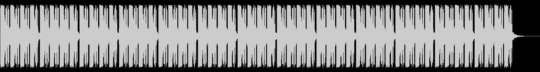 フリースタイル、バトル用ビートの未再生の波形