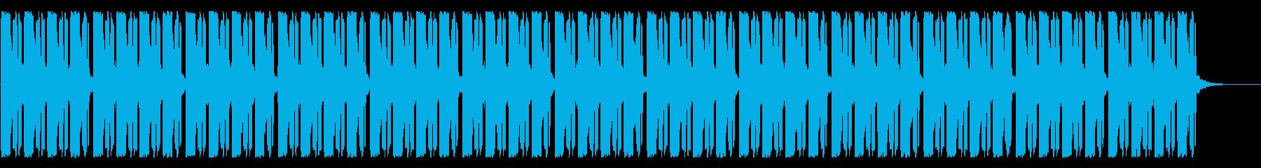 フリースタイル、バトル用ビートの再生済みの波形