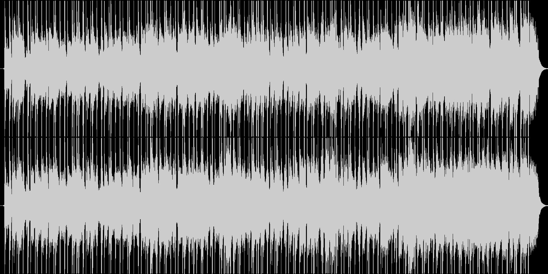 軽快なオルガンが象徴的なBGMの未再生の波形