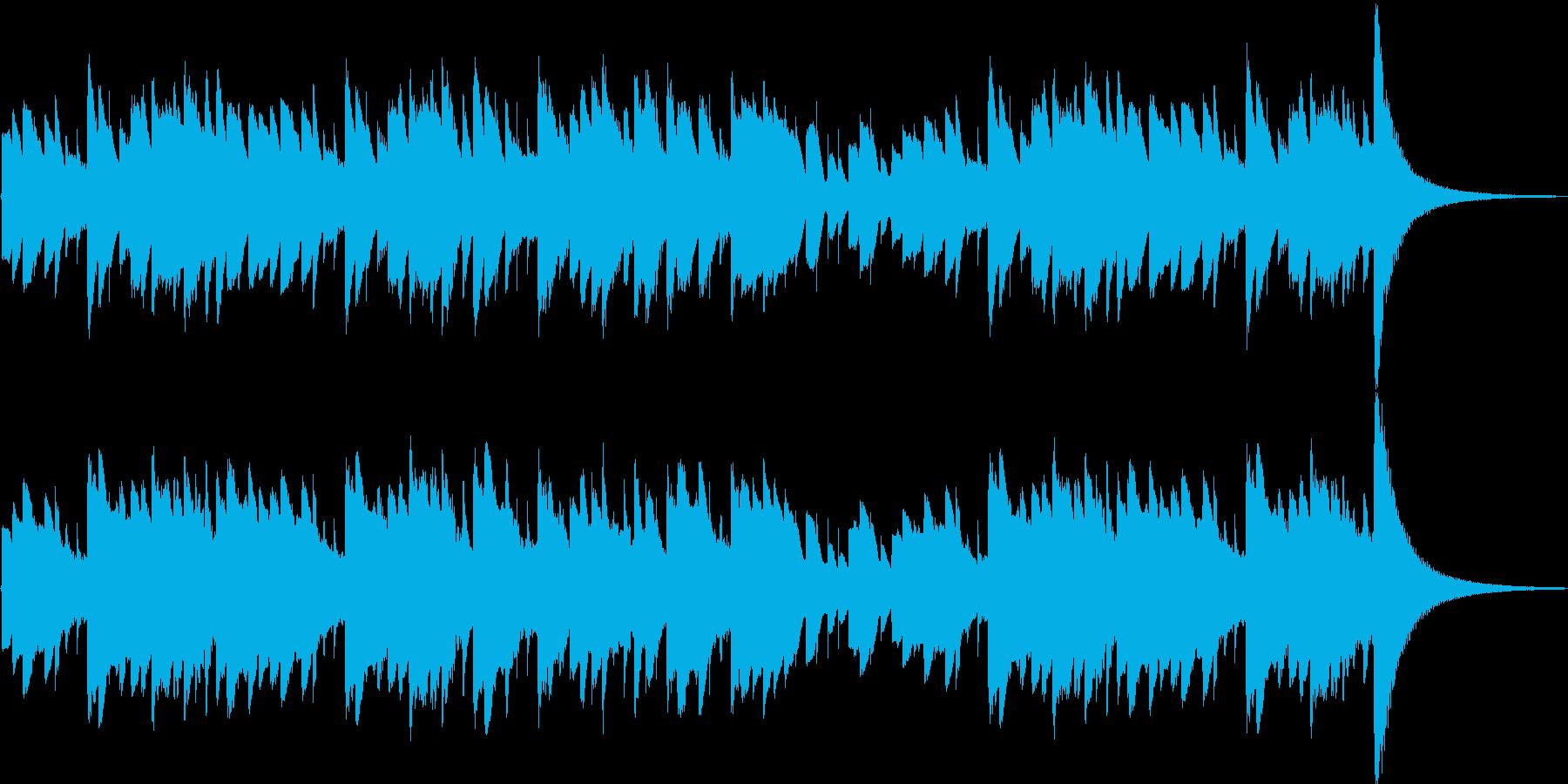 エリーゼのためにベートーヴェンの再生済みの波形