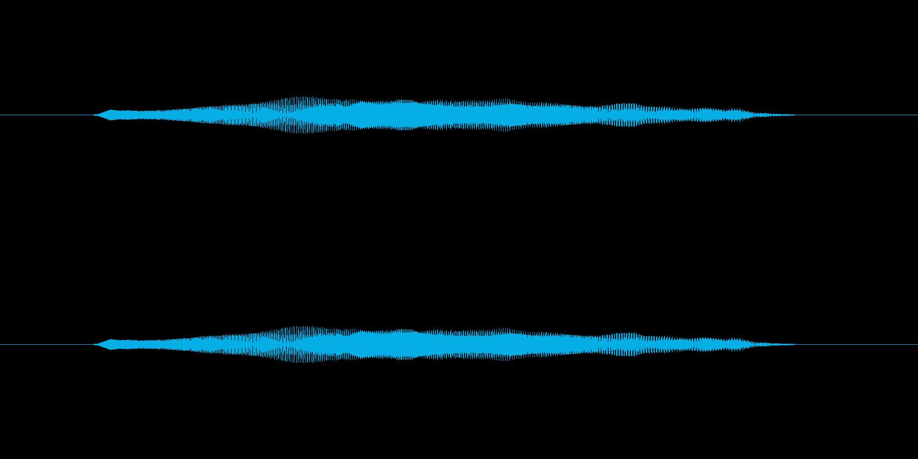 ニャー_猫声-16の再生済みの波形