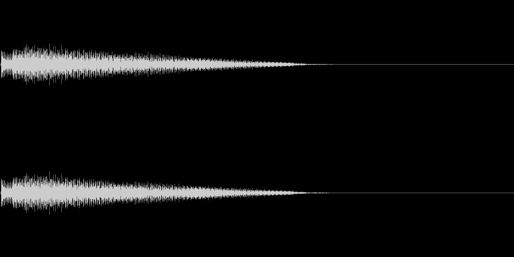 ポロローン(癒し、リラックス、回復)02の未再生の波形