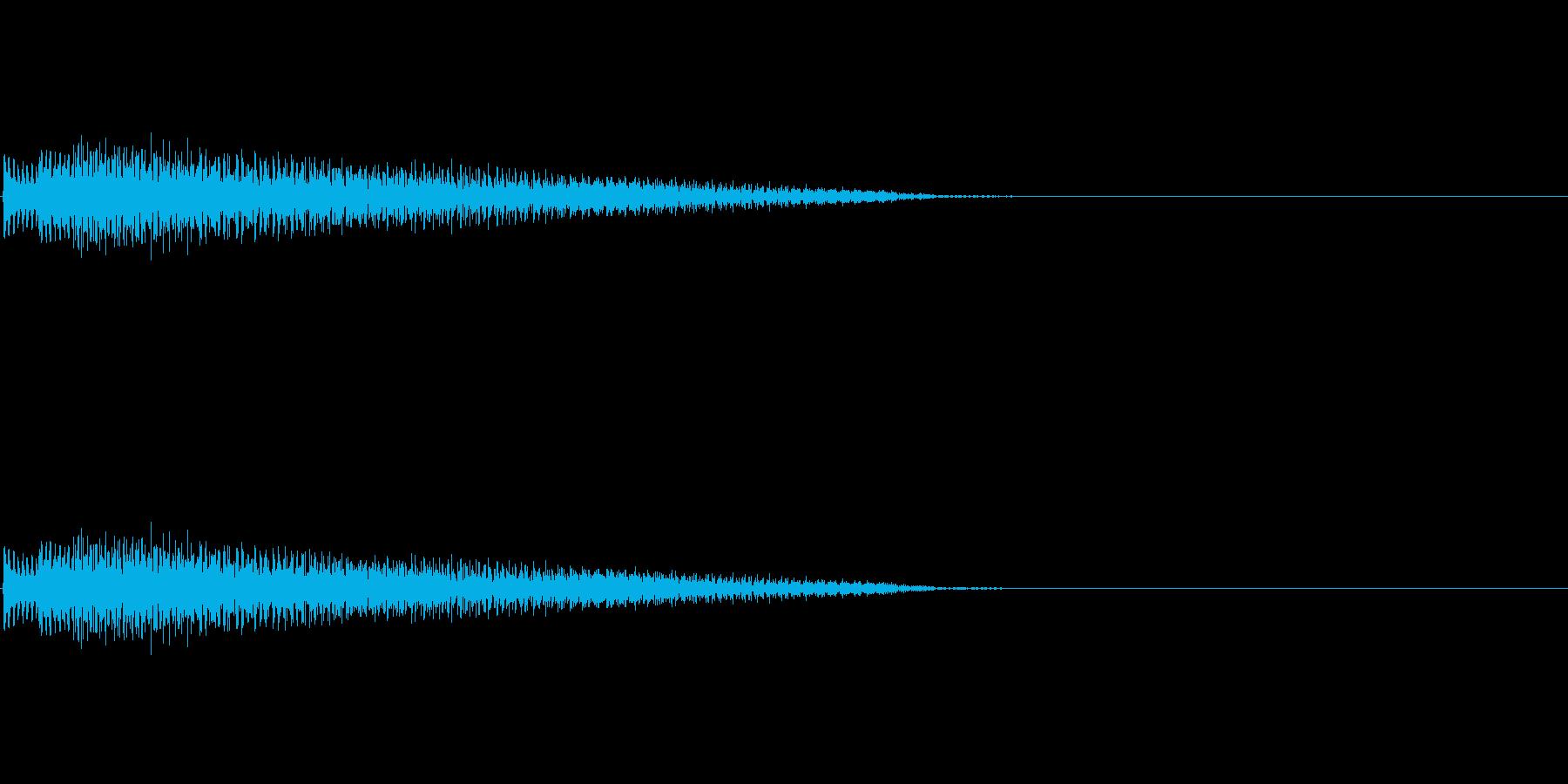 ポロローン(癒し、リラックス、回復)02の再生済みの波形