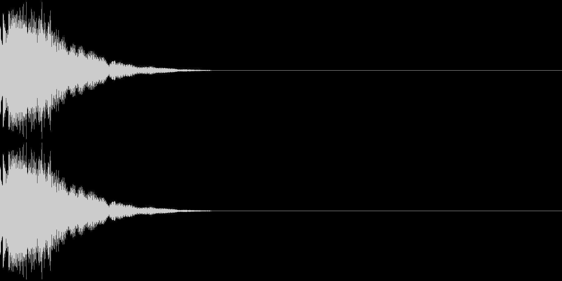 チュリン(金属系)の未再生の波形
