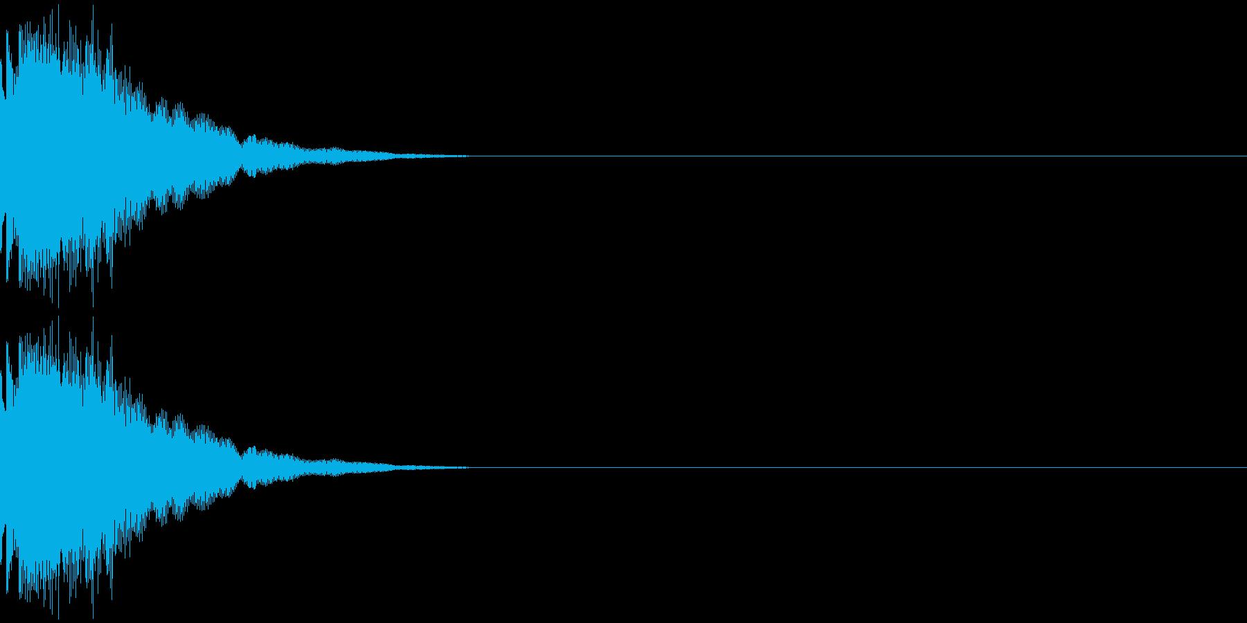 チュリン(金属系)の再生済みの波形