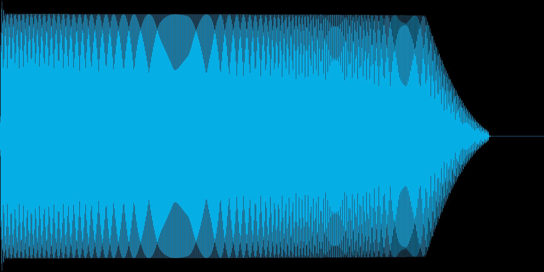 メタルコアベースドロップ C2→C1の再生済みの波形