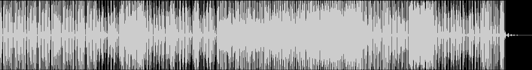 バウンス系BGMの未再生の波形