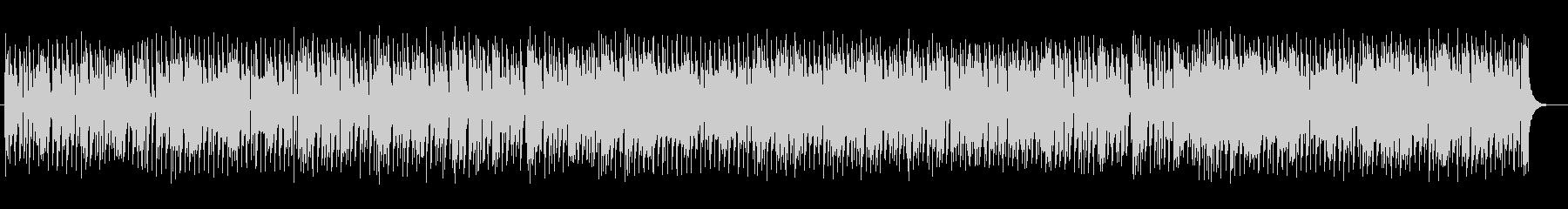 明るいフルート中心のマーチの未再生の波形