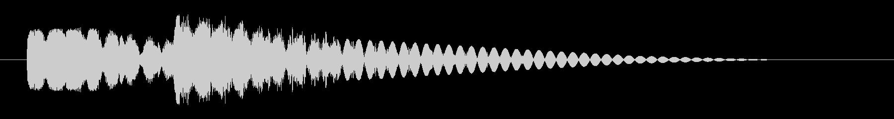 ピュピュン 射撃音3 レーザー銃などの未再生の波形