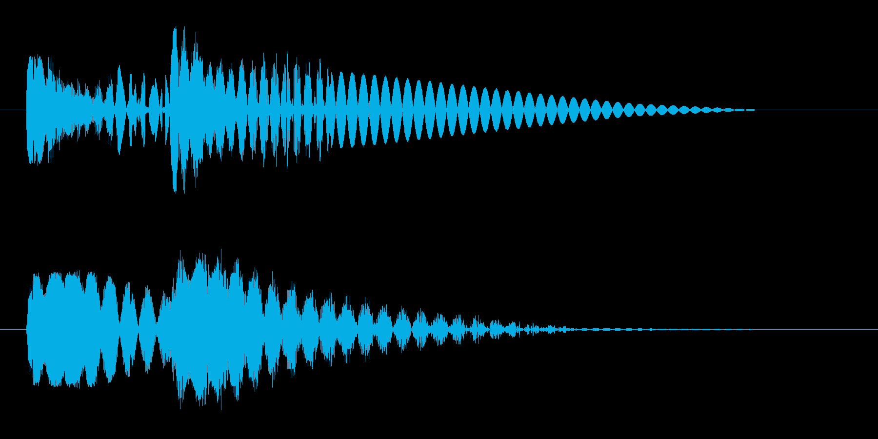ピュピュン 射撃音3 レーザー銃などの再生済みの波形