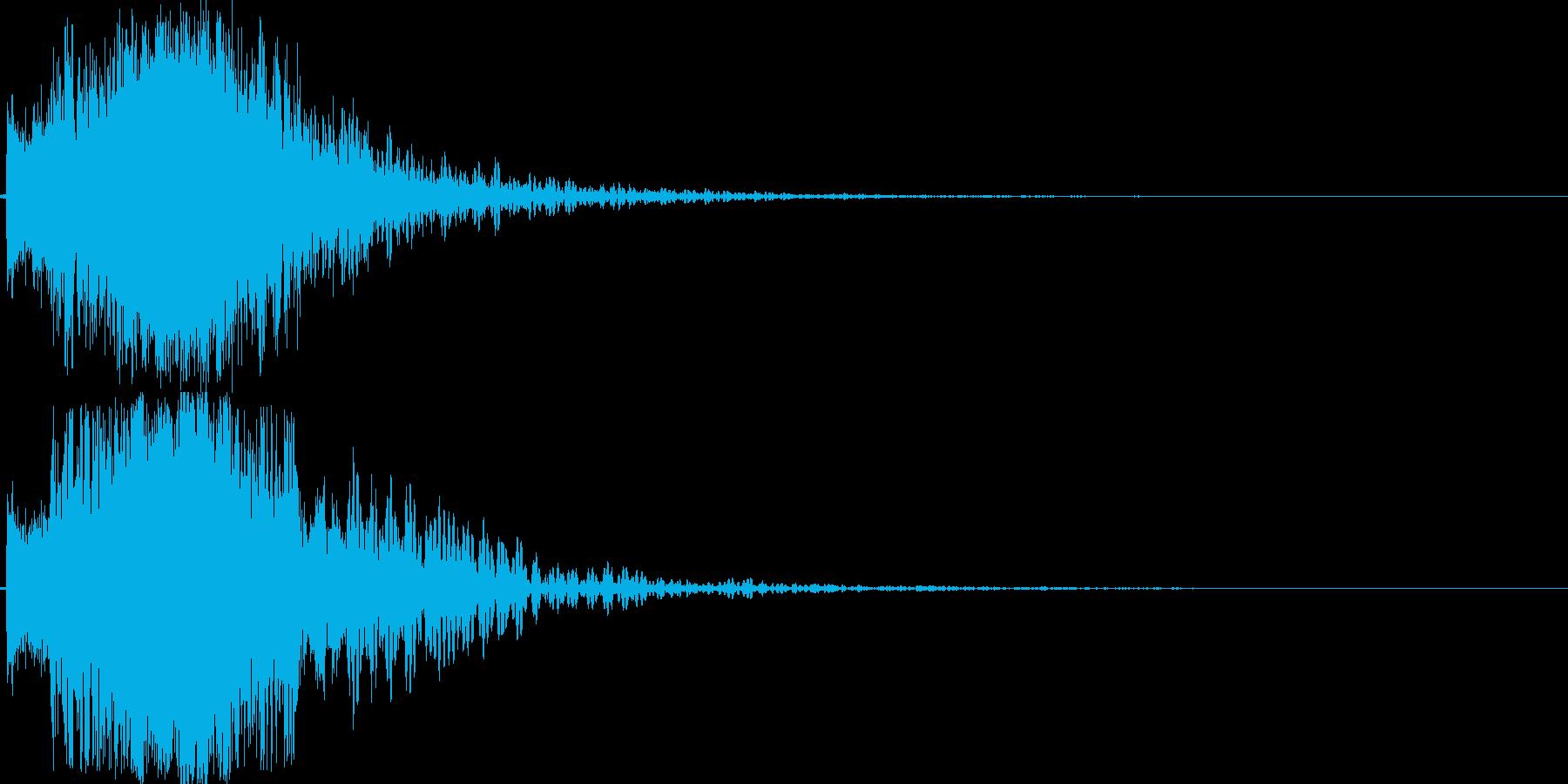 シャキーン(特大剣 ロゴ インパクト)6の再生済みの波形