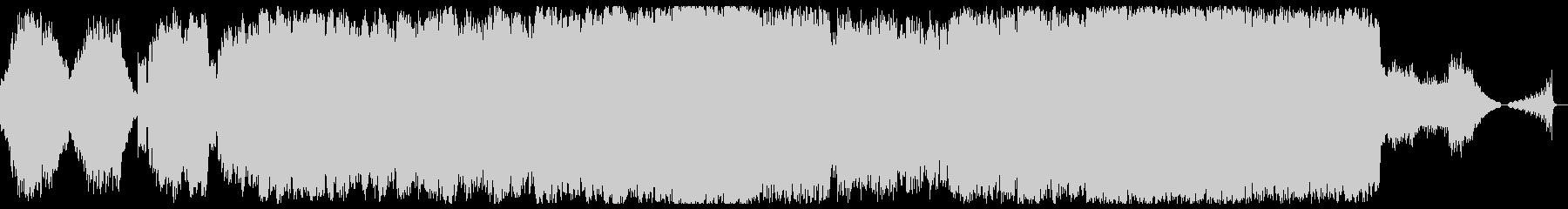 悲しいメロディーのBGMの未再生の波形