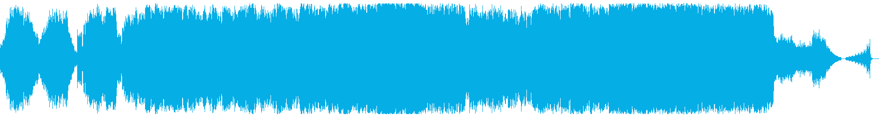 悲しいメロディーのBGMの再生済みの波形