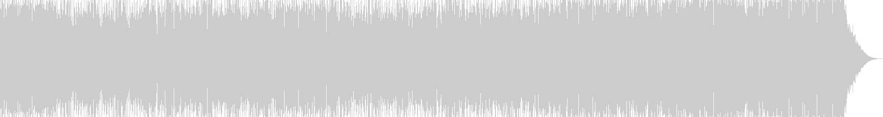 攻撃的なパンクロックの未再生の波形