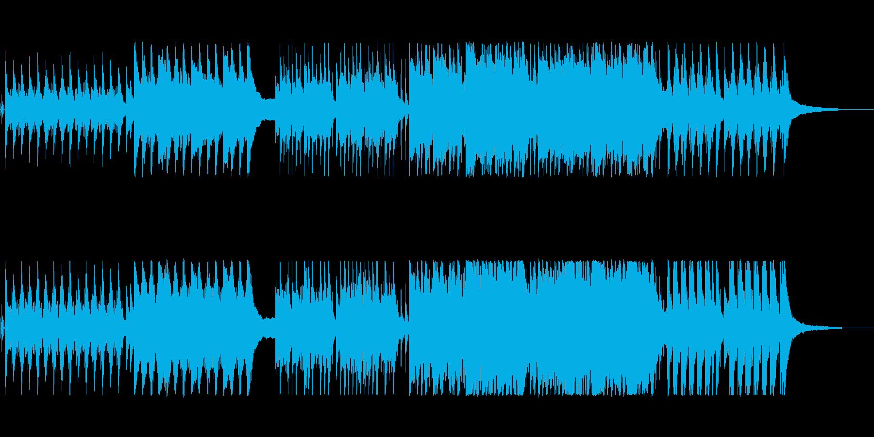 秘めたる想い・静かな決意・出発のピアノ曲の再生済みの波形