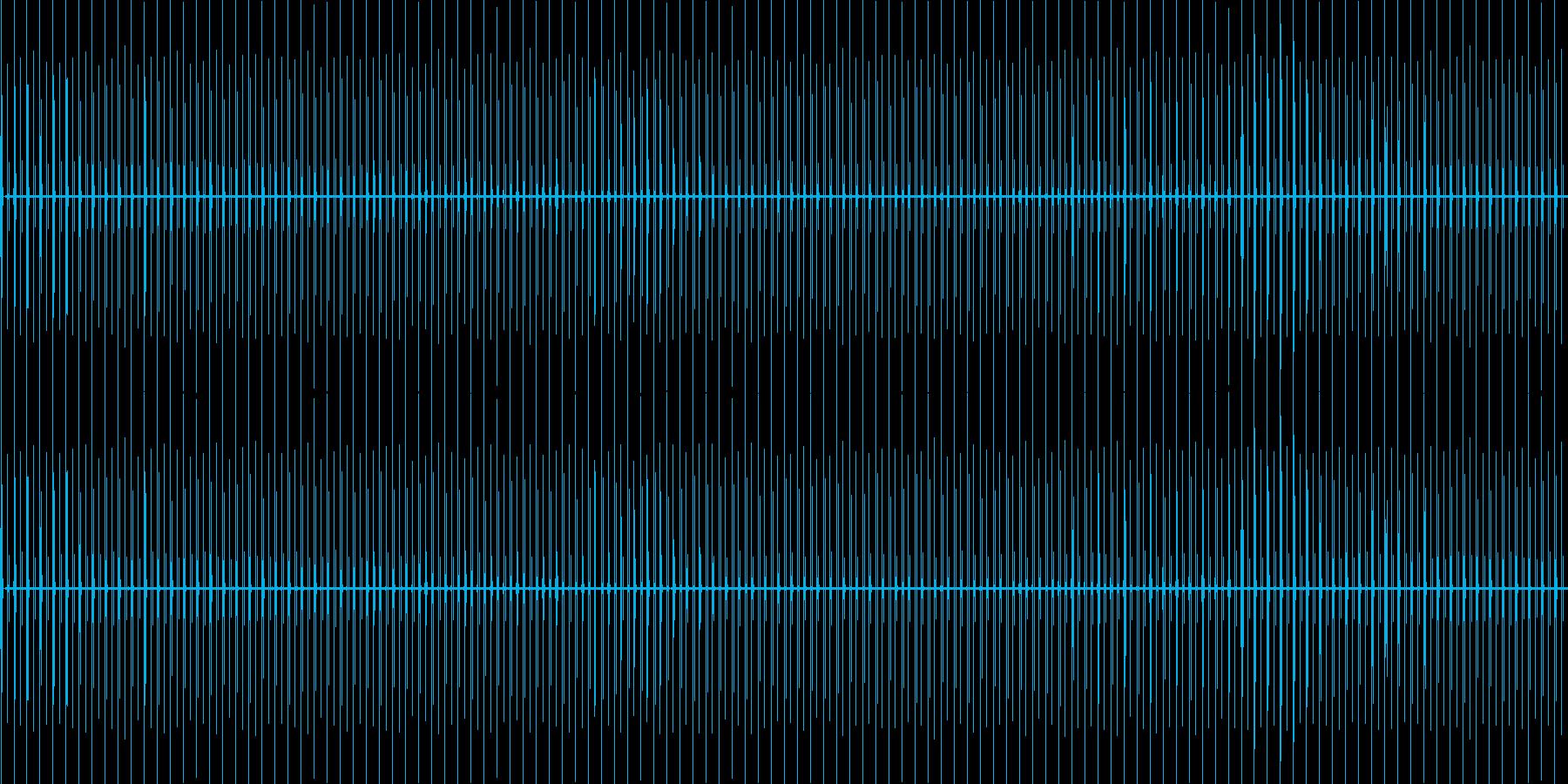 チッチッチッ……(時計・秒針60sec)の再生済みの波形