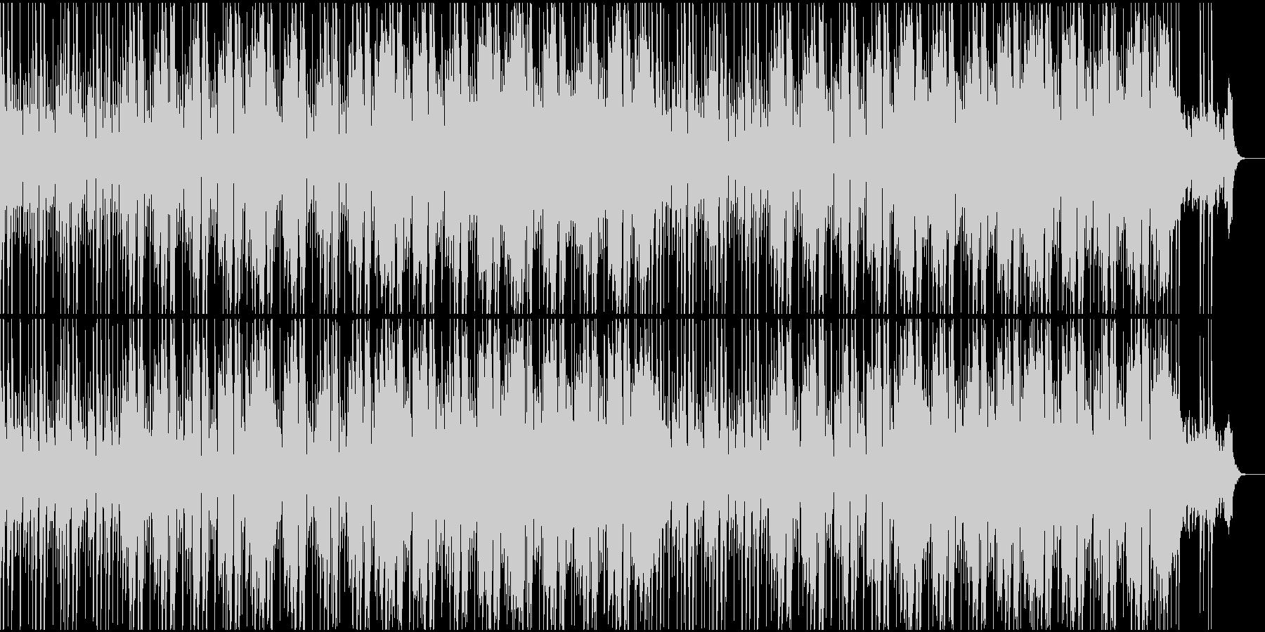 明るく陽気なファンクミュージック!03の未再生の波形