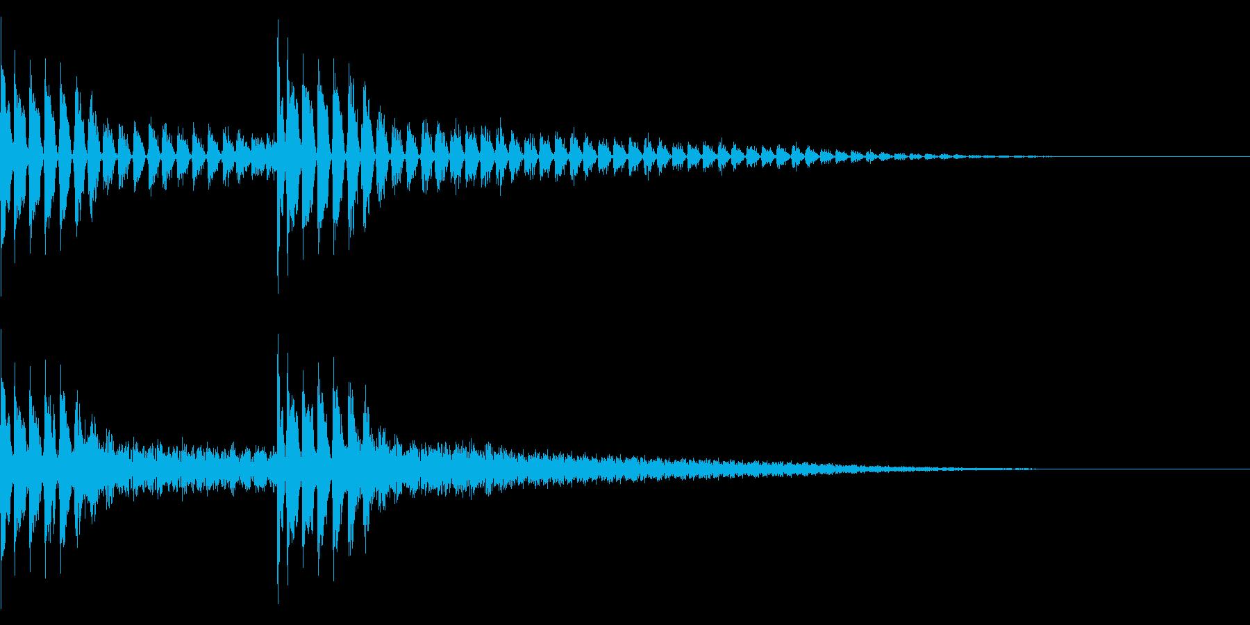 TVFX ビヨーンとヘンテコなSE 4の再生済みの波形