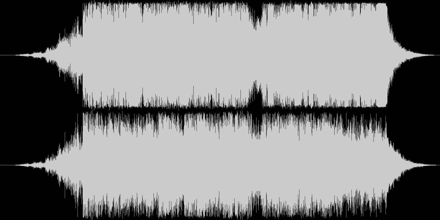 ファンファーレの未再生の波形