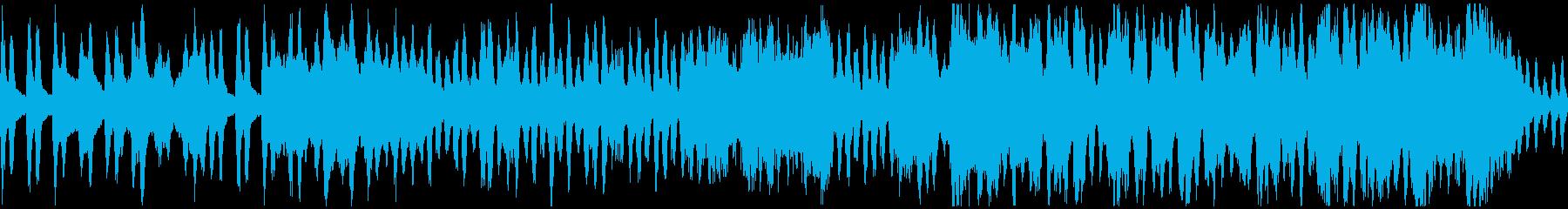 【ループ】弦楽器とチェンバロのワルツの再生済みの波形
