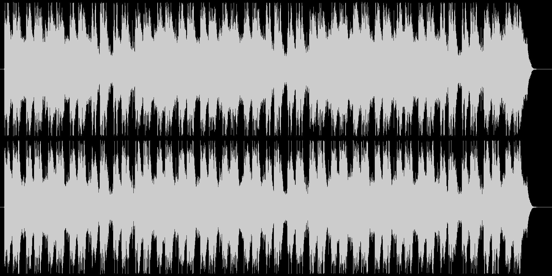 緊迫したファンタジー系ストリングスの未再生の波形