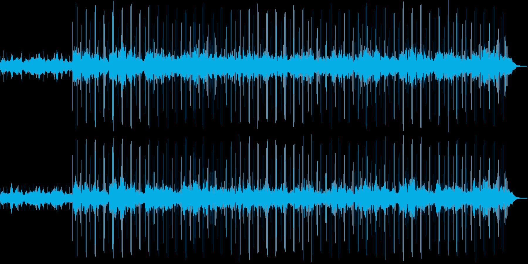 ボサノヴァ調 スローな曲 の再生済みの波形