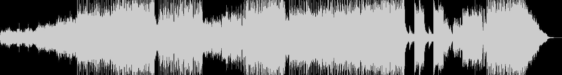 漆黒をイメージした3拍子ロックの未再生の波形
