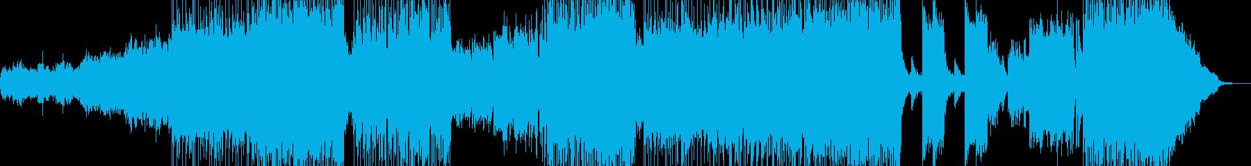 漆黒をイメージした3拍子ロックの再生済みの波形