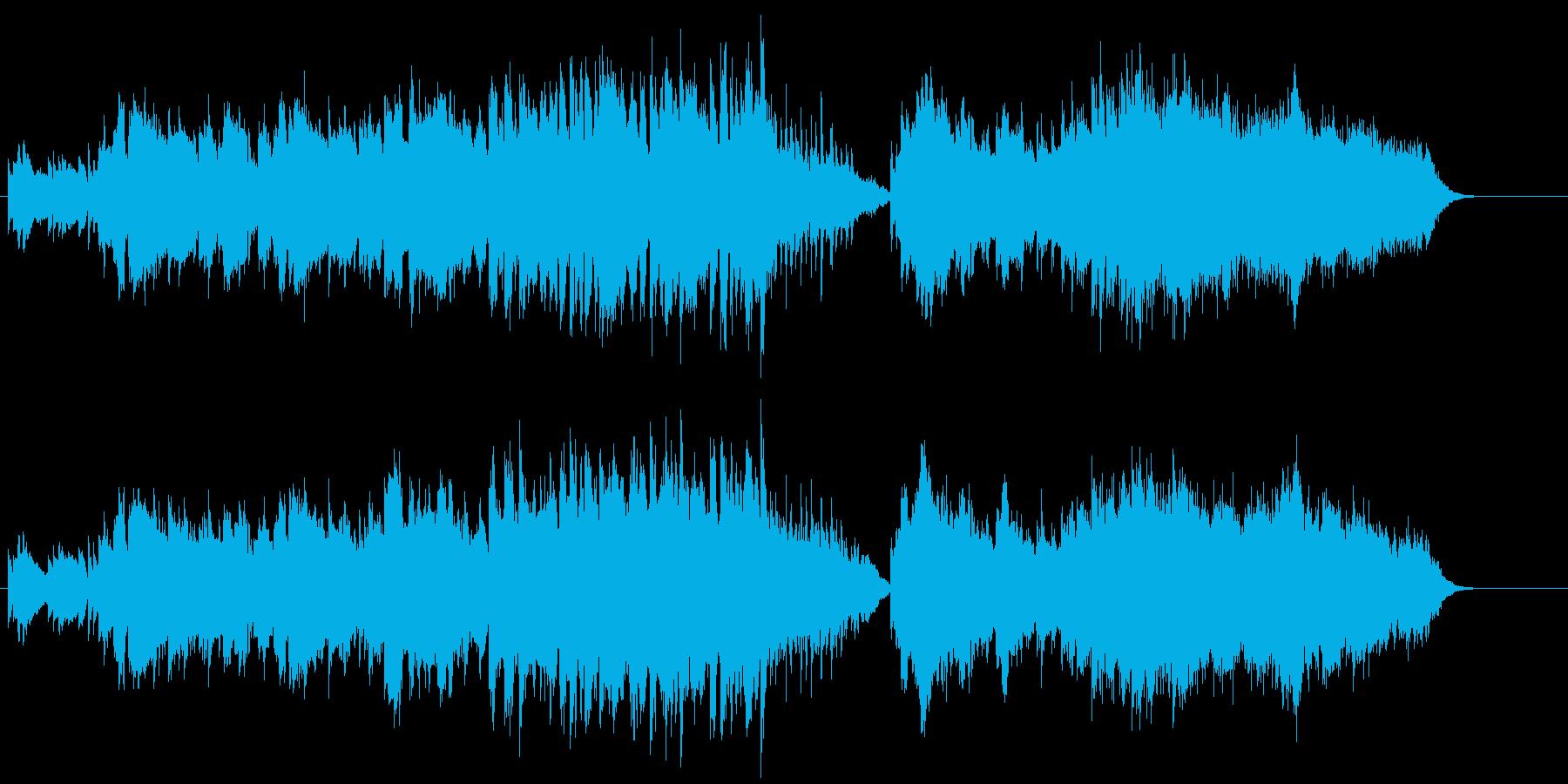 温もりを感じるドラマチックなバラードの再生済みの波形