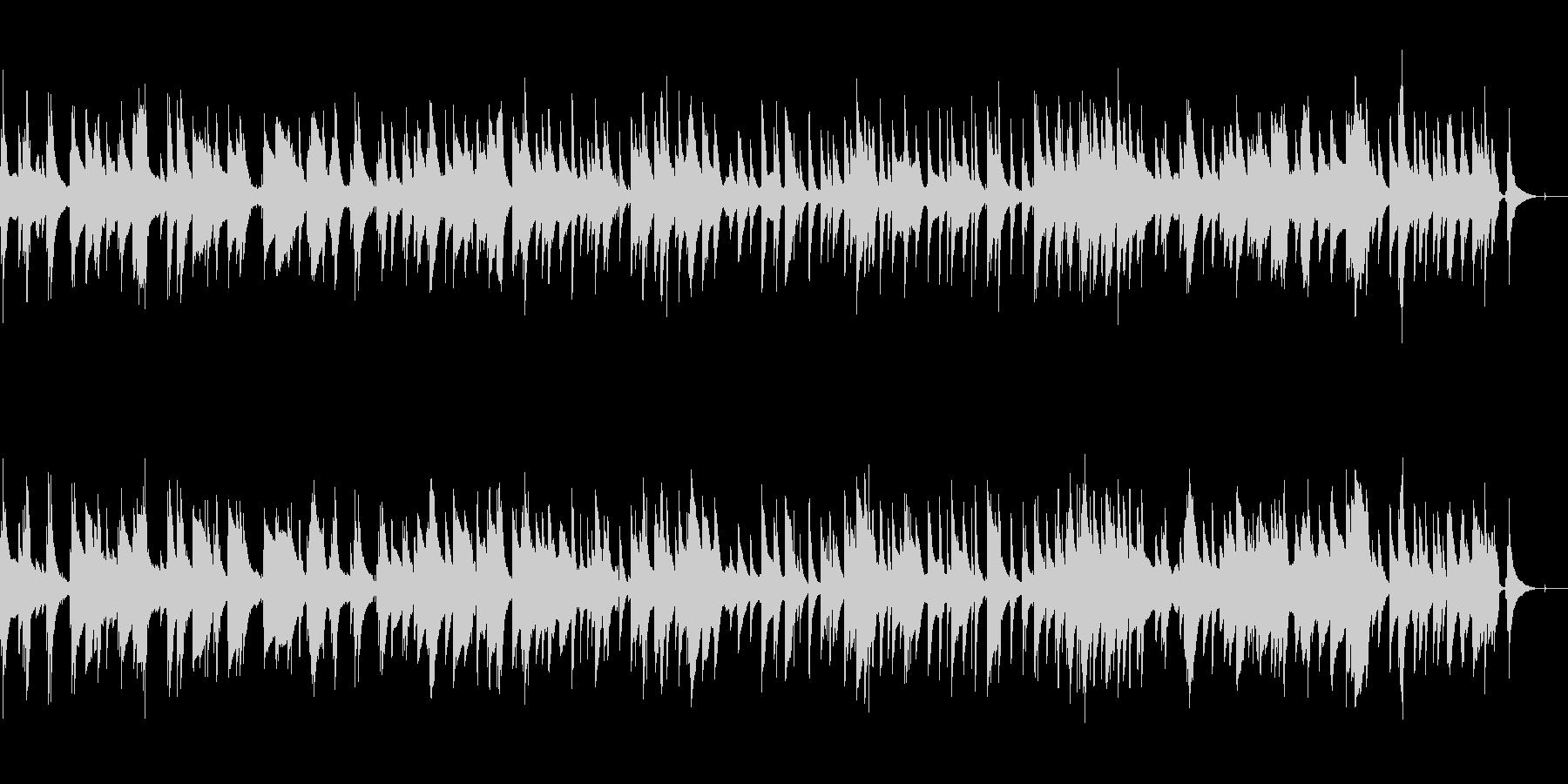 ガーシュウィンのバラード(ピアノトリオ)の未再生の波形