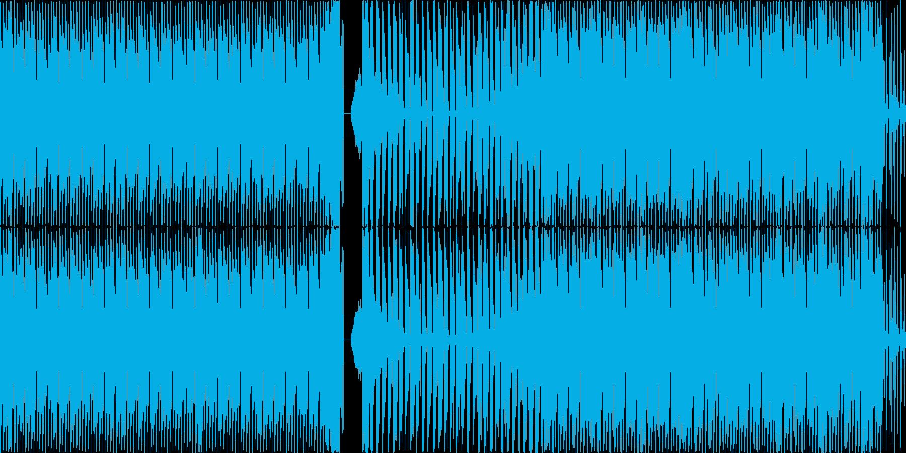 サイケ、テクノ、癖になるループ素材の再生済みの波形