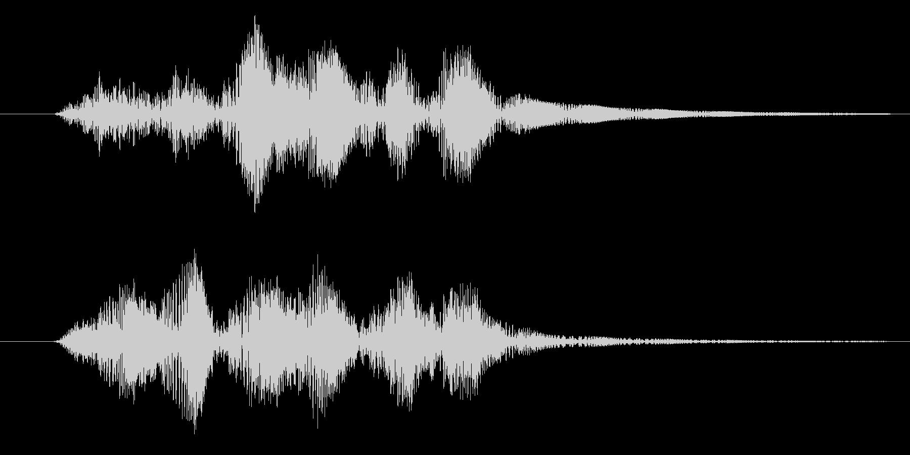 プルプル(スライム・ゼリー)の未再生の波形