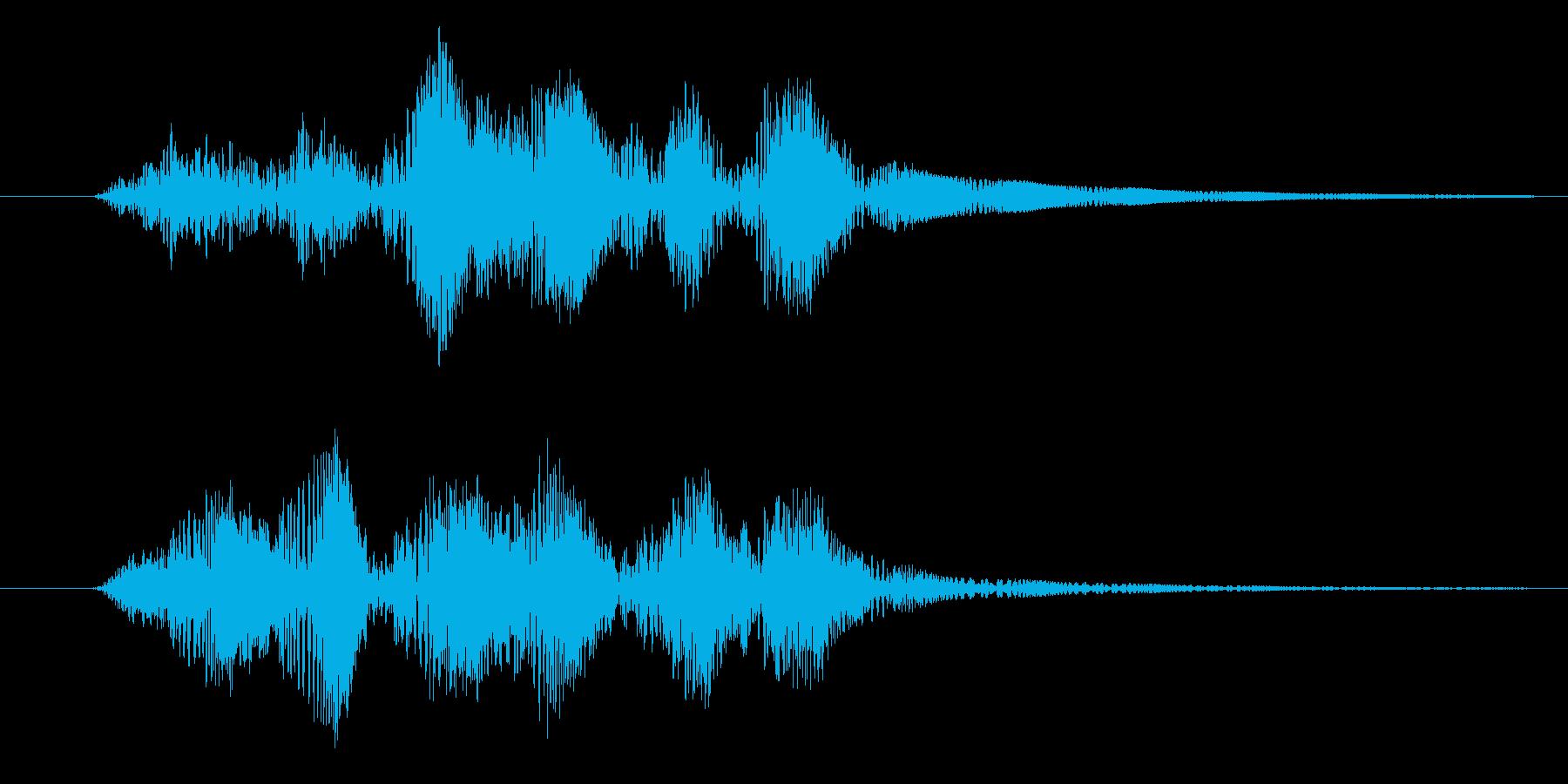 プルプル(スライム・ゼリー)の再生済みの波形